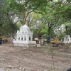 The Historic Lin Zin Gone Myanmar Muslim Cemetery and Mosque were demolished by using Bulldozers